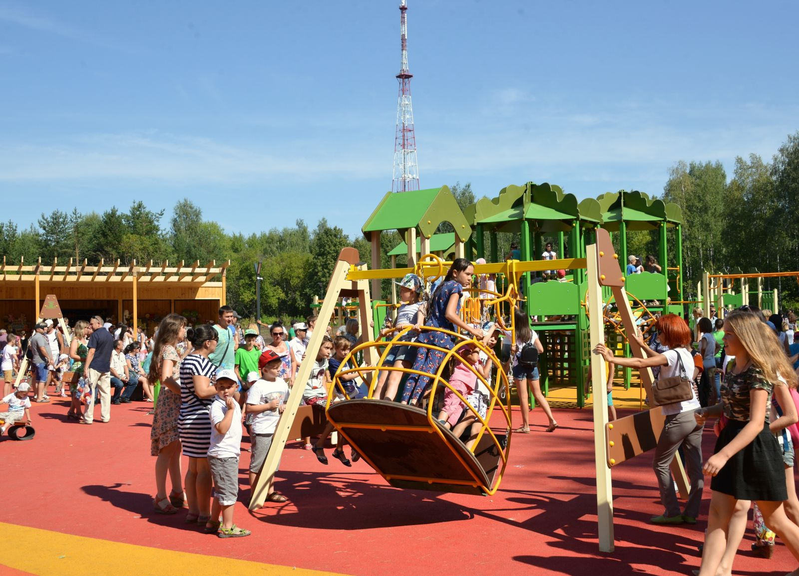 нижнекамск парк семья фото